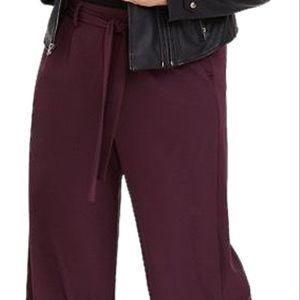 Torrid size 2 wide leg pants in purple/burgundy